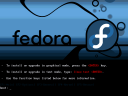 Fedora Core Installation menu